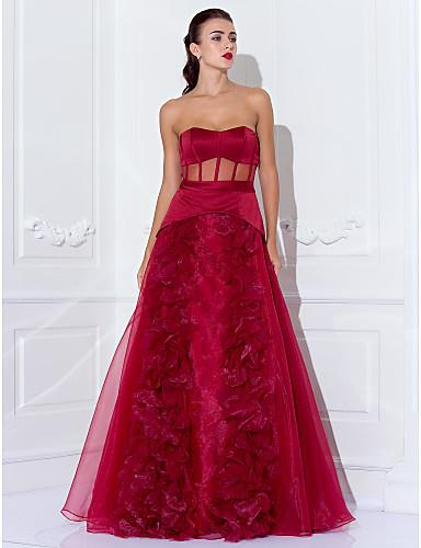e5a7e39305f TS Couture Prom   Formal Evening   Military Ball Dress - See Through Plus  Size